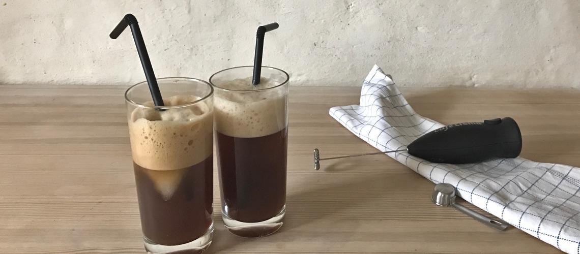 frappé - iskaffe